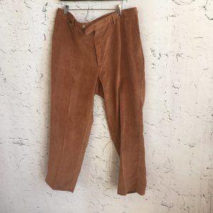 PETER MILLAR BROWN CORDUROY PANTS 38